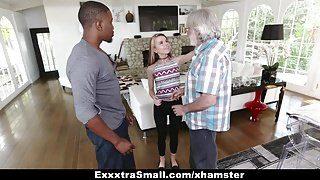 ExxtraSmall – Tiny Teen Alina West Sucks Huge Cock To Pay Debt